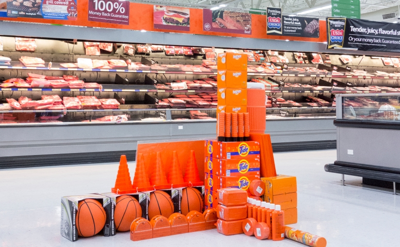 趨勢分析 – 今天要買什麼色?超市賣場的另類陳列方式,抓住消費者的眼睛