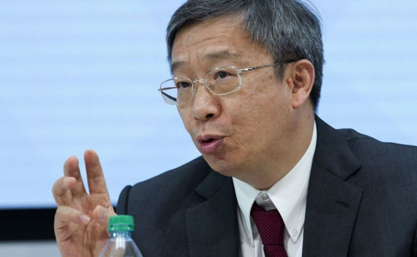 趨勢分析 – 迎接新挑戰,中國人行行長交由易綱掌舵