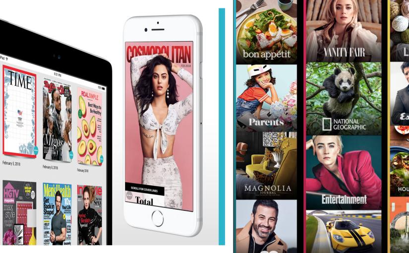 市場脈動 – 蘋果將併數位雜誌服務 Texture提振營收