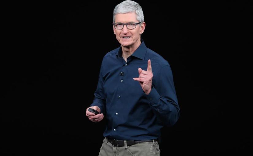 翻譯新聞─蘋果執行長庫克:仇恨在蘋果的平台上是沒有生存空間的